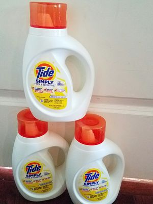 Simply Tide Free and Sensitive bundle lot for Sale in Rockville, MD