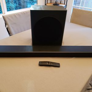 ALMOST NEW Samsung HW-Q60T Soundbar for Sale in Edmonds, WA