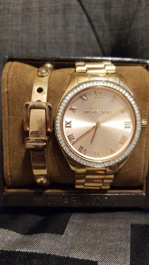 Michael Kors Watch &Bracelet- Rose Gold for Sale in Phoenix, AZ
