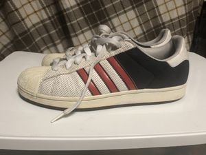 Adidas Red/White/Blue shoes for Sale in Forest Heights, MD