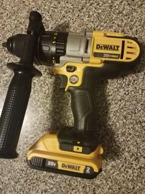 Dewalt hammer dril + bateria for Sale in Manassas, VA