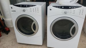 GE washer and dryer. Dryernot working well washer working when you hit the power button twice for Sale in Yorba Linda, CA