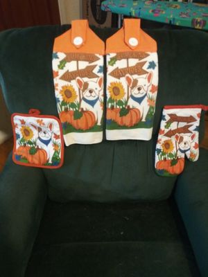 Hanging Terry Cloth Dish Towel Set for Sale in Montgomery, AL