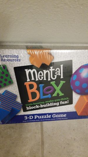 Mental blox 3d puzzle game for Sale in Brandon, FL