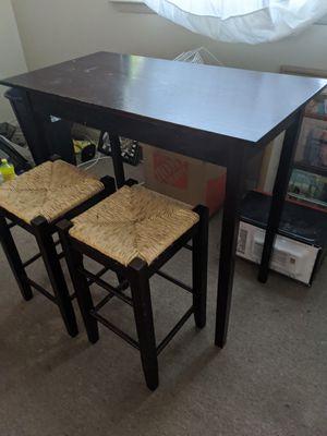 2 Piece Pub Wood Table Set for Sale in Hampton, VA