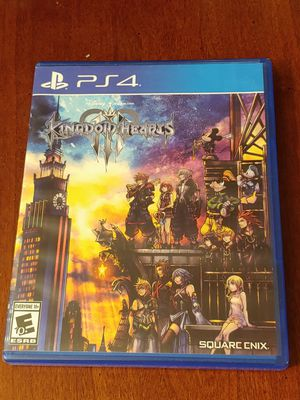 PS4 KINGDOM HEARTS 3 FOR ONLY 20$$!! 100%💥💥 for Sale in Escondido, CA