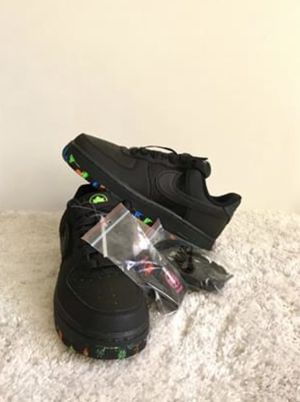 Nike Air Force 1 '07' NYC Parks Black Action Size 4 for Sale in Chandler, AZ