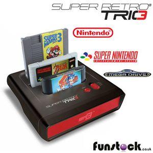 Super Retro Trio by retro-bit for Sale in San Bernardino, CA