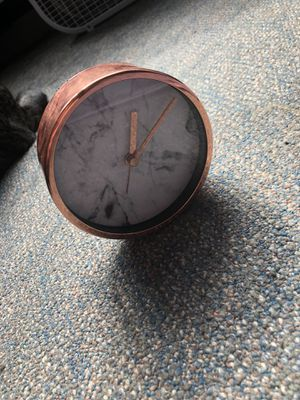 Marble clock w alarm for Sale in North Andover, MA