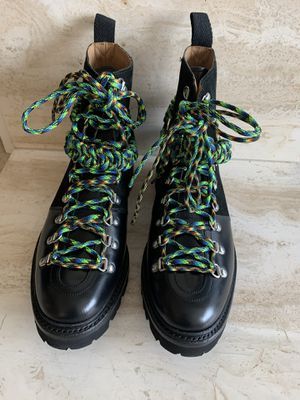 Grenson Womens x House of Holland Nanette Combat Boots Black US 11 UK 8 for Sale in Bellevue, WA