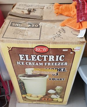 Antique electric ice cream maker, still works for Sale in Camden, AR