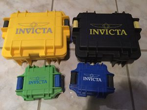 Invicta watch protective cases for Sale in West Palm Beach, FL