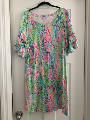 Lilly Pulitzer - Lula Ruffle Dress (Large) for Sale in Winter Garden, FL