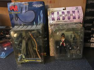 Kabuki and Bone comic book action figures for Sale in Reynoldsburg, OH