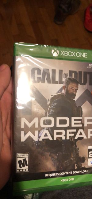 Call of Duty Modern warfare for Sale in Springfield, MO
