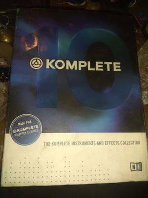 Komplete 10 control s series for Sale in Davis, CA