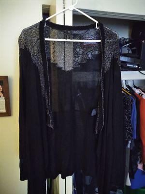 womens guess Women's Drape Front Open Cardigan Long Sleeve medium $35 for Sale in Washington Township, NJ