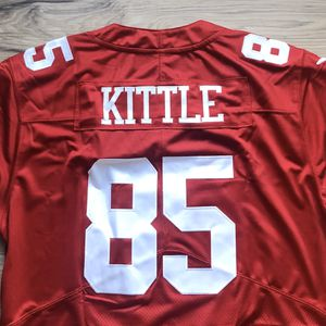 BRAND NEW! 🔥 George Kittle #85 San Francisco 49ers NFL Nike Red Jersey + NFL 💯 Logo + SHIPS OUT NOW! 📦💨 for Sale in Santa Clara, CA