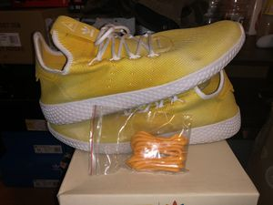 "Pharrell tennis hu ""yellow holi"" for Sale in Portland, OR"