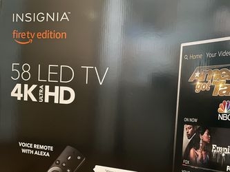 """Insignia 58"""" Fire TV (Brand new unopened box) for Sale in Columbia,  MO"""