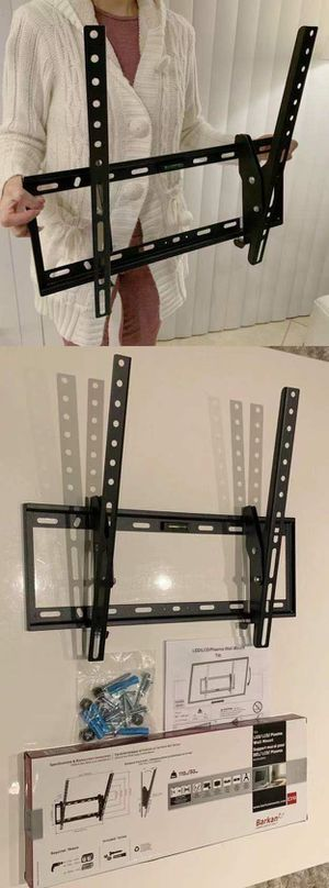 """NEW 26"""" 30 37 40"""" 42"""" 46 50 52"""" 55 56"""" inches tilt tilting tv television wall mount bracket 110 lbs capacity for Sale in Montebello, CA"""