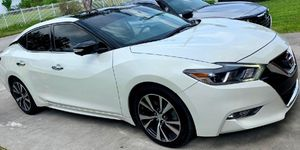 2017 White Nissan Maxima-MUST SEE! Only 58K Miles! PLATINUM EDITION! Yours Today For Only $15,500OBO for Sale in Miami, FL