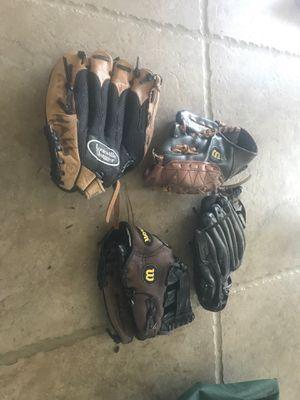 Kids baseball gloves for Sale in Rockville, MD