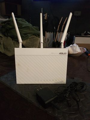ASUS RT N66 double 450mbps dual band n router for Sale in Oklahoma City, OK