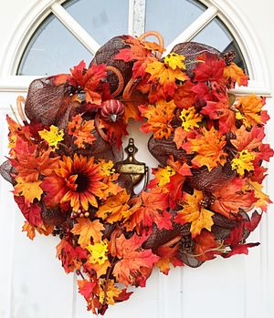 Fall Wreath for Sale in Inwood, WV