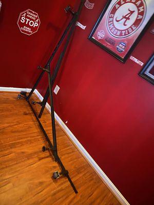 Metal bed rail queen/king size for Sale in Woodbridge, VA