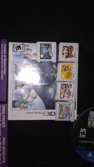 5 great Nintendo 3ds XL games comes with Nintendo 3ds Xl And Case for Sale in Atlanta, GA
