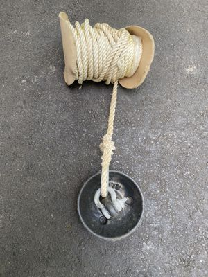 Small Boat Anchor w/nylon rope for Sale in Woodbridge, VA
