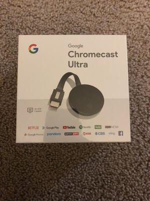 Google Chromecast Ultra for Sale in Rockville, MD