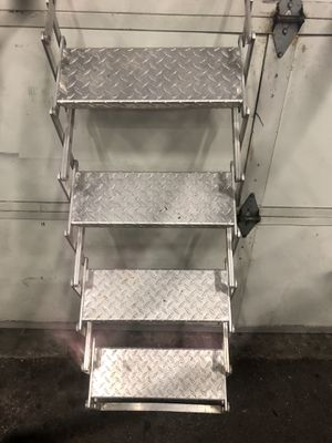 Aluminum folding stairs for camper for Sale in Portland, OR