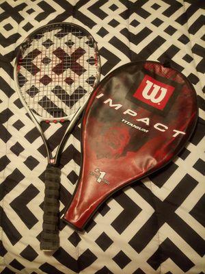 Wilson Impact Titanium lightweight tennis racket for Sale in Seffner, FL