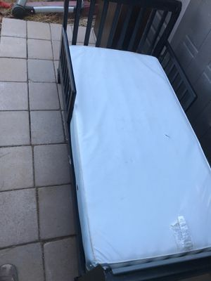 Toddler bed complete with mattress for Sale in Queen Creek, AZ