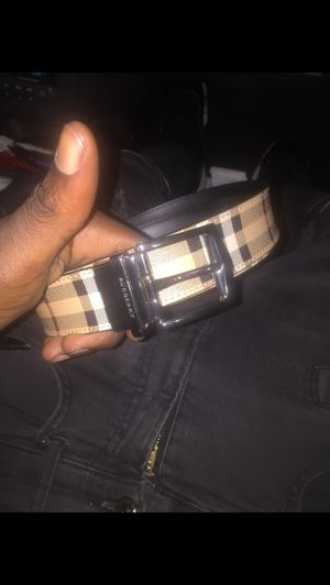 Burberry Authentic Belt for Sale in Riverdale, MD