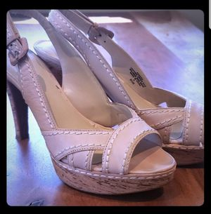 Nine West Cream Heels Sz8.5 for Sale in Leavenworth, WA