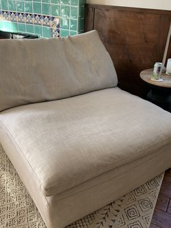 Restoration Hardware Cloud Armless Chair for Sale in Los Angeles,  CA