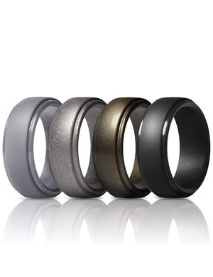 Rubber Wedding Bands 10mm Wide - Size 10.5/11 for Sale in Largo, FL