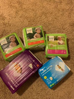 Various size diapers for Sale in Columbia, SC