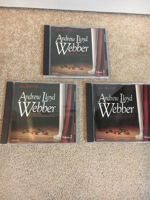 The Best of Andrew Lloyd Webber CDs for Sale in Las Vegas, NV