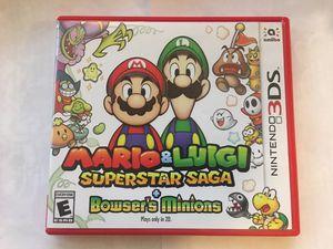 Mario Luigi Super star Sage CASE ONLY NO GAME for Sale in CA, US