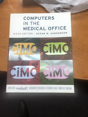 Computers in the medical office book for Sale in Gilroy, CA