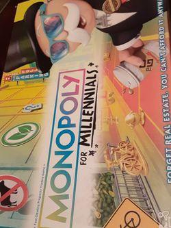 Monopoly For Millenials Game for Sale in Boynton Beach,  FL