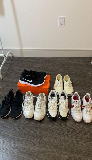 Women's Nike Presto, Cortez, Huarache AirMax 1, Vans for Sale in Irvine, CA