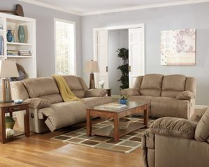 Ashley furniture reclining sofa set. So Comfortable!! for Sale in Alexandria, VA