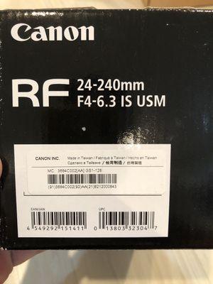 Canon RF for Sale in Carson, CA