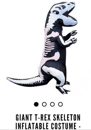 Inflatable T-Rex kids Morphcostume for Sale in Salt Lake City, UT