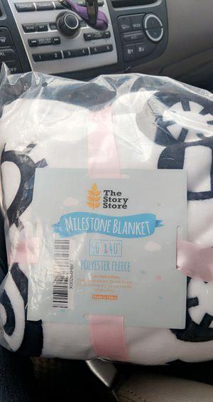 Baby Milestone blanket for Sale in Tempe, AZ